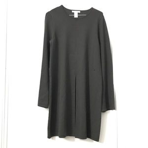 Design History Gray Long Sweater Dress.